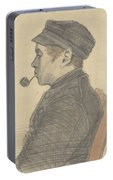 Young Man With A Pipe Nuenen, March 1884 Vincent Van Gogh 1853 - 1890 Portable Battery Charger