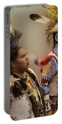 Pow Wow Young Men Portable Battery Charger
