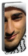 Young Palestinian Man Portable Battery Charger