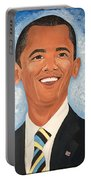 Young President Obama Portable Battery Charger