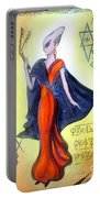 Young Queen Of Space Alien Civilization Portable Battery Charger