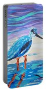 Young Seagull Coastal Abstract Portable Battery Charger