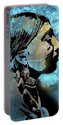 Young Wishram Woman Portable Battery Charger