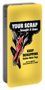 Your Scrap Brought It Down  Portable Battery Charger