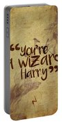 You're A Wizard Harry Portable Battery Charger