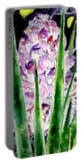 Yucca Flower Plant Southwestern Art Portable Battery Charger