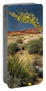 Yucca In The Valley Of Fire Portable Battery Charger