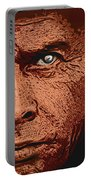 Yul Brynner Portable Battery Charger by Antonio Romero