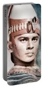 Yul Brynner, Hollywood Legend By John Springfield Portable Battery Charger
