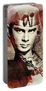 Yul Brynner, Vintage Actor Portable Battery Charger