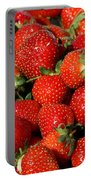 Yummy Fresh Strawberries Portable Battery Charger
