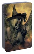 A Witch's Soul Does Never Die Portable Battery Charger