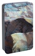 Zabriskie Point,, Death Valley, California, Usa Portable Battery Charger