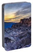Zabriskie Point Sunset Portable Battery Charger