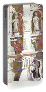 Zacatecas Cathedral Portable Battery Charger