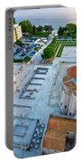 Zadar Forum Square Ancient Architecture Aerial View Portable Battery Charger