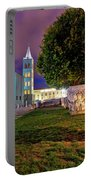 Zadar Historic Square Evening View Portable Battery Charger