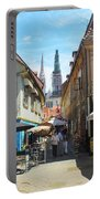 Zagreb City Croatia Portable Battery Charger