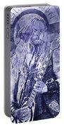 Zakk Wylde - Watercolor 06 Portable Battery Charger
