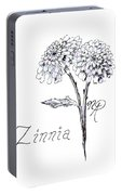 Zannie Zinnia Portable Battery Charger