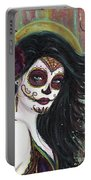 Zatina Day Of The Dead Portable Battery Charger