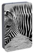 Zebra - Here It Is In Black And White Portable Battery Charger