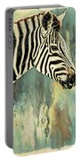 Zebra Abstracts Too Portable Battery Charger