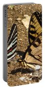 Zebra And Tigers Portable Battery Charger