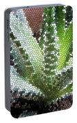 Zebra Cactus  Portable Battery Charger