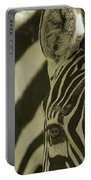 Zebra Close Up A Portable Battery Charger