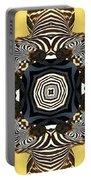 Zebra Cross Portable Battery Charger