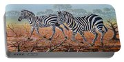 Zebra Crossing Portable Battery Charger