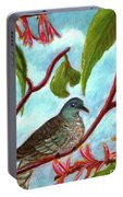 Zebra Doves Or Barred Dove Birds #309 Portable Battery Charger