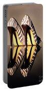 Zebra Print Stiletto Portable Battery Charger