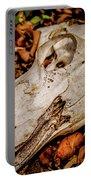 Zebra Skull Portable Battery Charger