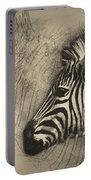 Zebra Study Portable Battery Charger