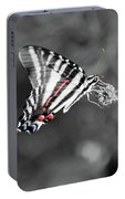 Zebra Swallowtail Butterfly 2016 Portable Battery Charger