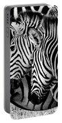 Zebras Triplets Portable Battery Charger