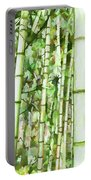 Zen Bamboo Forest Portable Battery Charger