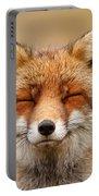 Zen Fox Red Fox Portrait Portable Battery Charger