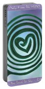 Zen Heart Labyrinth Sky Portable Battery Charger