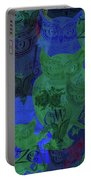Zen Owl Midnight Blue Portable Battery Charger