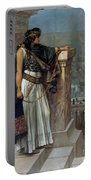 Zenobia's Last Look On Palmyra Portable Battery Charger by Herbert Gustave Schmalz