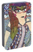 Zentangle Queen  Portable Battery Charger