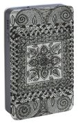 Zentangle Portable Battery Charger