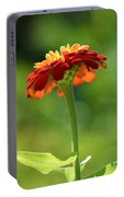 Zinnia Flower Portable Battery Charger