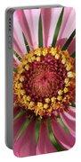 Zinnia - Natural Mandala Portable Battery Charger