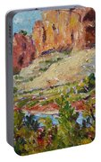 Zion Mountain Cliff Portable Battery Charger