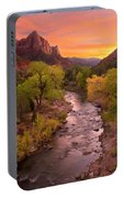 Zion National Park The Watchman Portable Battery Charger
