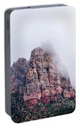 Zion Red Rock And Clouds Portable Battery Charger